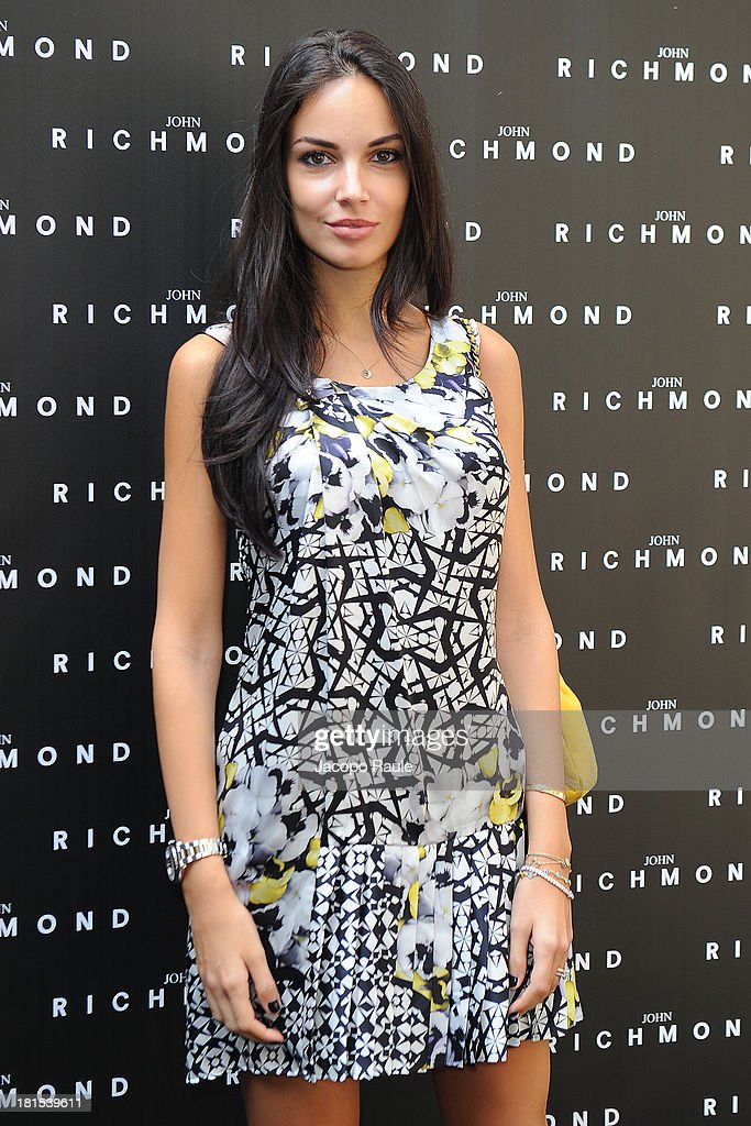 Michela Quattrociocche attends John Richmond during Milan Fashion Week Womenswear Spring/Summer 2014 on September 22, 2013 in Milan, Italy.