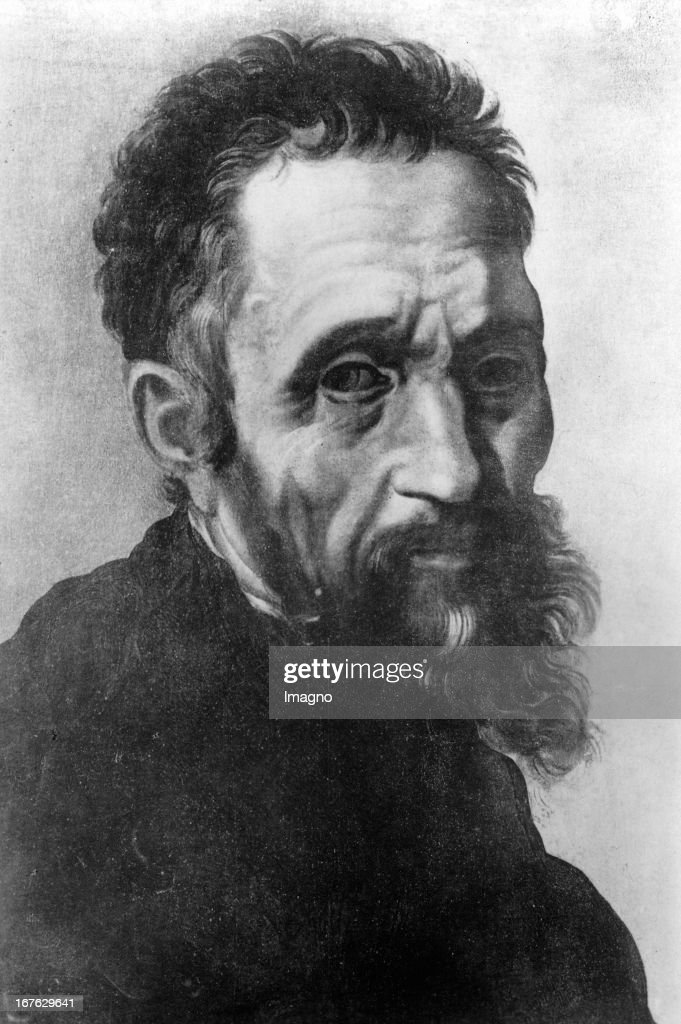 <a gi-track='captionPersonalityLinkClicked' href=/galleries/search?phrase=Michelangelo+-+Artist&family=editorial&specificpeople=116061 ng-click='$event.stopPropagation()'>Michelangelo</a> Buonarotti, painter, architect and sculptor. Etching. 16th century. (Photo by Imagno/Getty Images) <a gi-track='captionPersonalityLinkClicked' href=/galleries/search?phrase=Michelangelo+-+Artist&family=editorial&specificpeople=116061 ng-click='$event.stopPropagation()'>Michelangelo</a> Buonarotti, Maler, Architekt und Bildhauer. Radierung. 16. Jahrhundert.