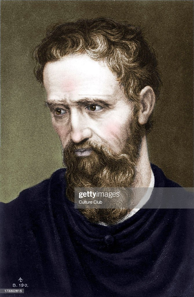 <a gi-track='captionPersonalityLinkClicked' href=/galleries/search?phrase=Michelangelo+-+Artist&family=editorial&specificpeople=116061 ng-click='$event.stopPropagation()'>Michelangelo</a> - Italian artist Self-portrait, line drawing. Italian sculptor, painter, architect.
