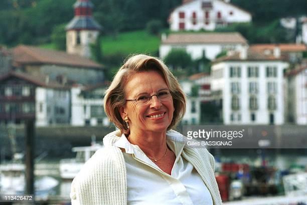 Michele Alliot Marie On October 9th 1999 In SaintJean De LuzFrance