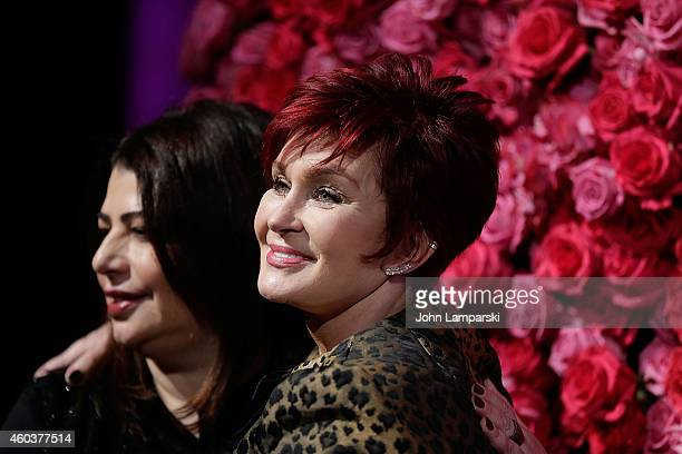 Michele Anthony and Sharon Osbourne attend 2014 Billboard Women In Music Luncheon at Cipriani Wall Street on December 12 2014 in New York City