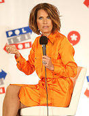 Michele Bachmann speaks during Politicon at the Los Angeles Convention Center on October 10 2015 in Los Angeles California
