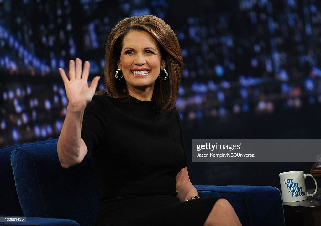 """Michelle Bachmann Visits """"Late Night With Jimmy Fallon"""""""