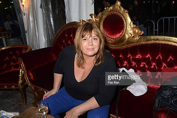 Michele Bernier attends the Fete des Tuileries' Opening Party Hosted By Marcel Campion At Jardin des Tuileries on June 27 2014 in Paris France