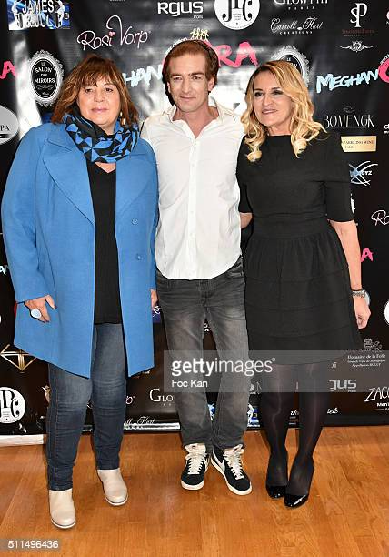 Michele Bernier Ludovic Chancel and Martine Antonini from Meghanora attend The Meghanora Auction Fashion Show to Benefit Meghanora Children Care...