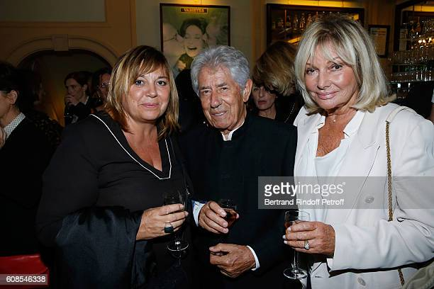 Michele Bernier Philippe Gildas and his wife Maryse Gildas attend the 'Tout ce que vous voulez' Theater Play at Theatre Edouard VII on September 19...