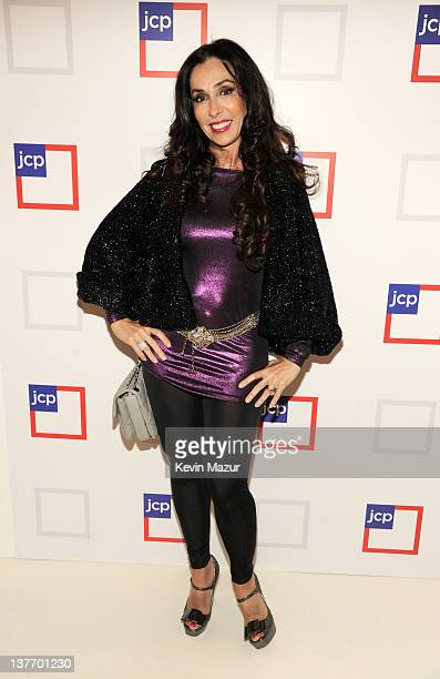 Michele Bohbot attends the jcpenney launch event at Pier 57 on January 25 2012 in New York City