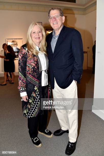 Michele Cohen and Marty Cohen attend the Guild Hall 2017 Summer Gala Celebrating AVEDON'S AMERICA at Guild Hall on August 11 2017 in East Hampton New...