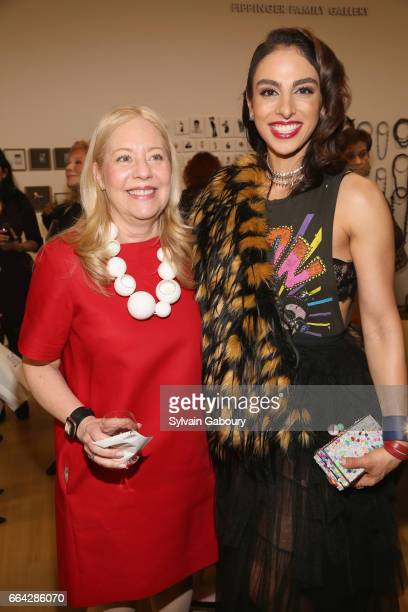 Michele Cohen and Shari Siadat Loeffler attend 17th Edition of LOOT MAD About Jewelry at Museum Of Arts And Design on April 3 2017 in New York City