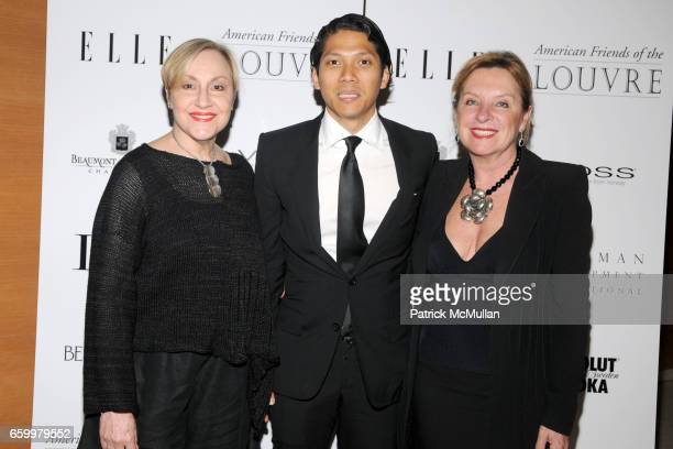 Michele Conte Robbie Antonio and Armelle Flood attend AMERICAN FRIENDS OF THE LOUVRE's Young Patrons Circle Soiree au Louvre 2009 at The Centurion on...