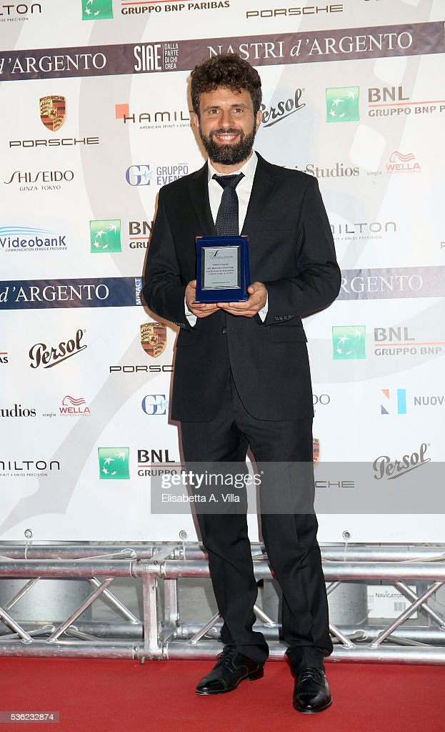 Michele D'Attanasio attends Nastri D'Argento 2016 Award Nominations at Maxxi on May 31, 2016 in Rome, Italy.