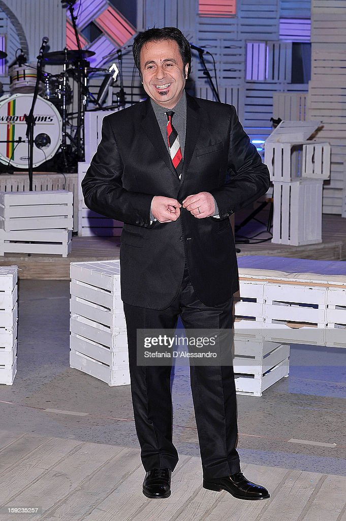 Michele Foresta known as Mago Forest attends 'Zelig Circus 2013' Italian TV Show Photocall on January 10, 2013 in Milan, Italy.