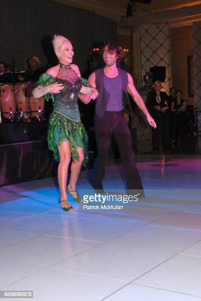 Michele Herbert and Dancing with the Stars Performers attend LARRY HERBERT 80TH Birthday Celebration at The Breakers Palm Beach on March 28 2009 in...