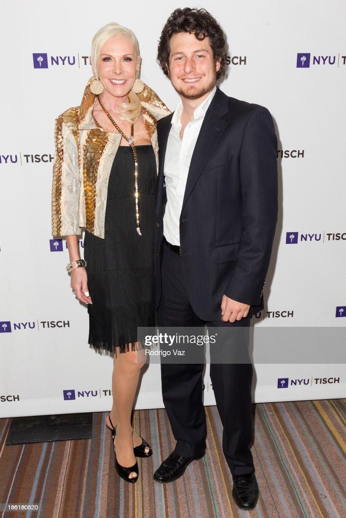 Michele Herbert (L) and Loren Herbert attend NYU's Tisch School Of the Arts LA Gala at Regent Beverly Wilshire Hotel on October 28, 2013 in Beverly Hills, California.
