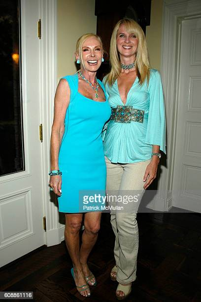 Michele Herbert and Sara Herbert Galloway attend The Kickoff party of 'Bewitched Bothered and Bewildered' The 2007 ALZHEIMER'S ASSOCIATION RITA...