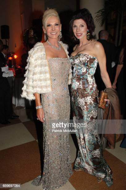 Michele Herbert and Susan Tabak attend LARRY HERBERT 80TH Birthday Celebration at The Breakers Palm Beach on March 28 2009 in Palm Beach Florida