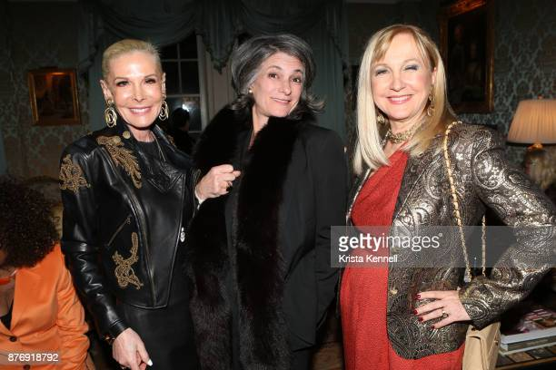 Michele Herbert Jacqueline LeDonne and Kathleen de Monchy attend Martin Shafiroff and Jean Shafiroff Host Thanksgiving Cocktails for NYC Mission...
