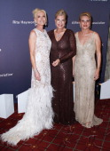 Michele Herbert Princess Yasmin Aga Khan and Marylyne Sexton attend the 2010 Alzheimer's Association Rita Hayworth Gala at The Waldorf=Astoria on...