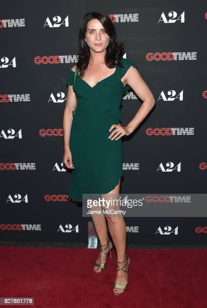 Michele Hicks attends 'Good Time' New York Premiere at SVA Theater on August 8 2017 in New York City