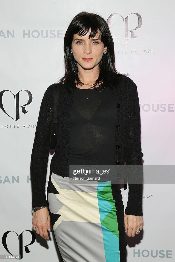 Michele Hicks attends the Charlotte Ronson + Artisan House Host Spring/Summer 2013 Handbag Preview on December 6, 2012 in New York City.