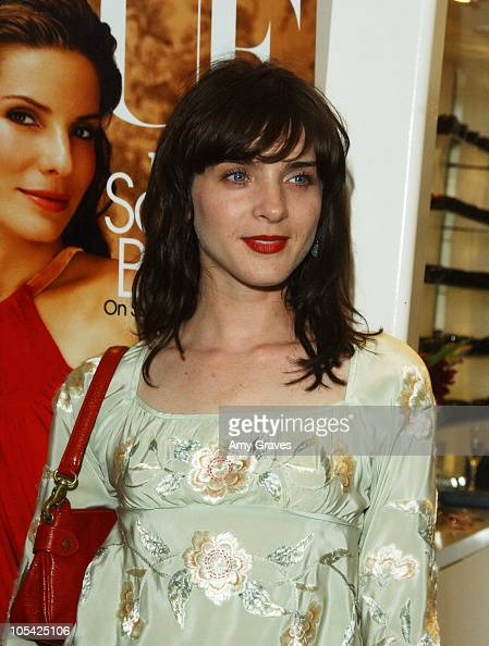 Michele Hicks during Vogue and Samsung Present the Anna Sui Mobile at Fred Segal Store in Santa Monica California United States