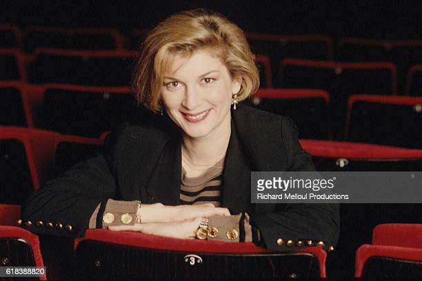 Michele Laroque appearing in Je Veux Faire du Cinema at La Michodiere Theatre in Paris
