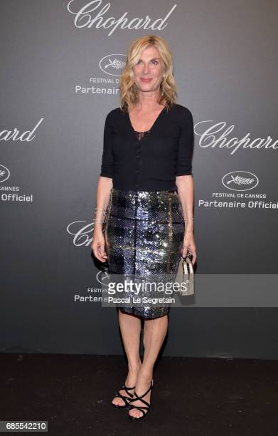 "Michele Laroque attends the Chopard ""SPACE Party"" hosted by Chopard's copresident Caroline Scheufele and Rihanna at Port Canto on May 19 in Cannes..."