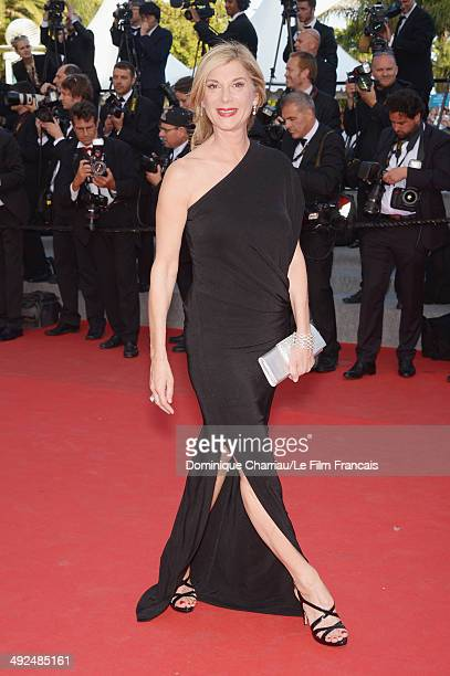 Michele Laroque attends the 'Two Days One Night' premiere during the 67th Annual Cannes Film Festival on May 20 2014 in Cannes France