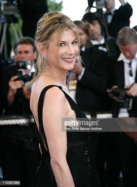 Michele Laroque during 2006 Cannes Film Festival 'Marie Antoinette' Premiere at Palais des Festival in Cannes France