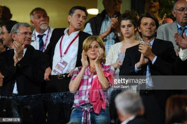 Michele Laroque / Francois Baroin France / Serbie Eliminatoire Coupe du Monde 2011 Stade de l Aube Troyes
