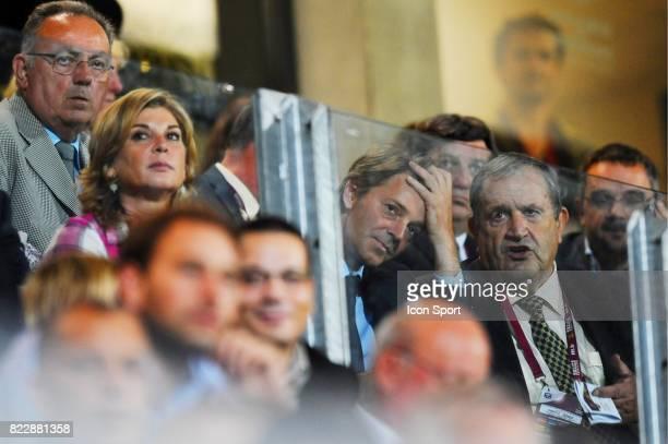 Michele Laroque / Francois Baroin / Fernand Duchaussoy France / Serbie Eliminatoire Coupe du Monde 2011 Stade de l Aube Troyes