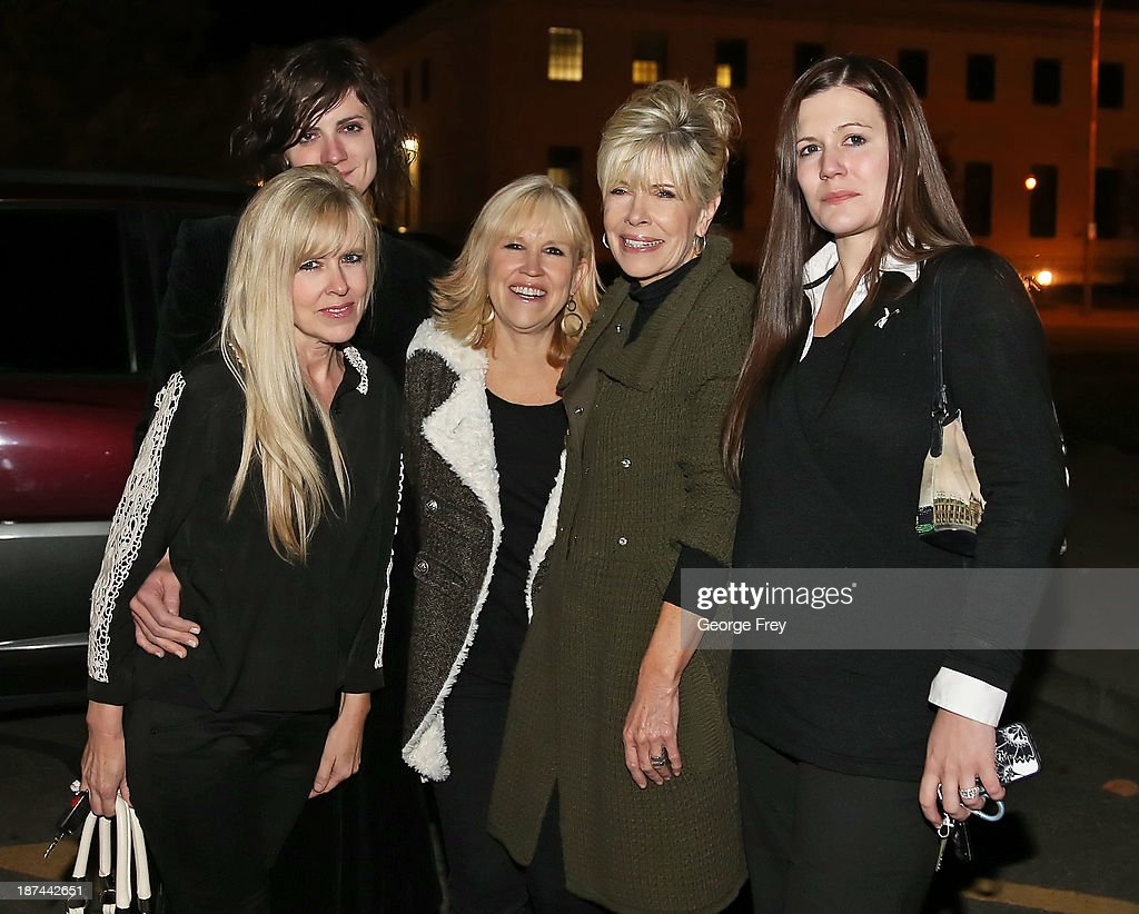 Michele MacNeill's sister Linda Cluff, daughter Rachel MacNeill, sister Terry Pearson, sister Susan Hare and daughter Alexis Somers pose for a picture outside the courthouse after Martin MacNeill was found guilty of the murder of his wife Michele MacNeill on November 9, 2013 in Provo, Utah. Martin MacNeill was found guilty of murdering his wife Michele MacNeill in 2007 and will face up to life in prison when he is sentenced in January.