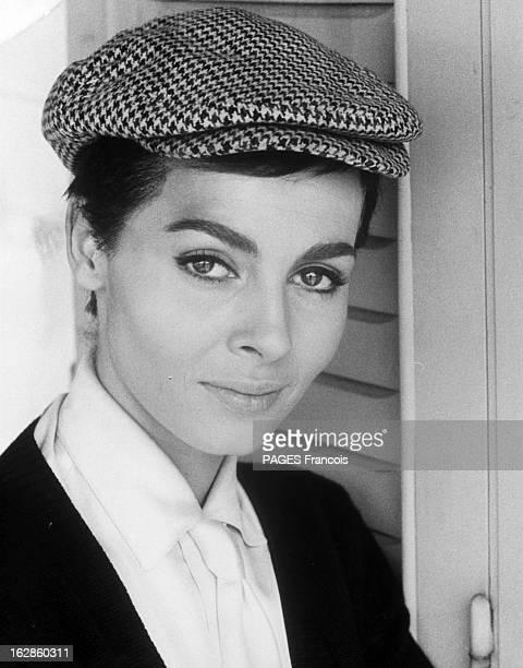 Michele Mercier In The Film 'The Second Truth' And 'Angelique' 6 janvier 1966 lors du tournage du film 'La seconde Vérité' du réalisateur Christian...
