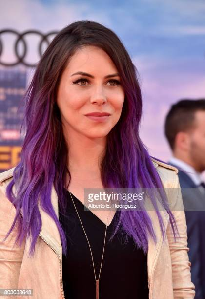 Michele Morrow attends the premiere of Columbia Pictures' 'SpiderMan Homecoming' at TCL Chinese Theatre on June 28 2017 in Hollywood California