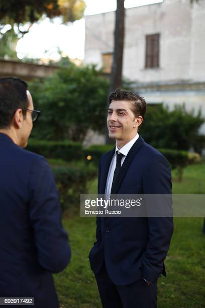 Michele Riondino attends Ciak D'Oro 2017 at Link Campus University on June 8 2017 in Rome Italy