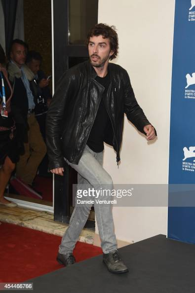 Michele Riondino attends 'Il Giovane Favoloso' Photocall during the 71st Venice Film Festival at Palazzo Del Casino on September 1 2014 in Venice...