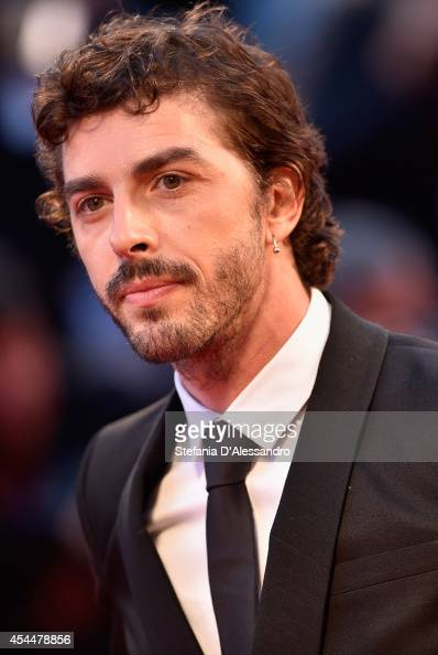 Michele Riondino attends 'Il Giovane Favoloso' Premiere on September 1 2014 in Venice Italy