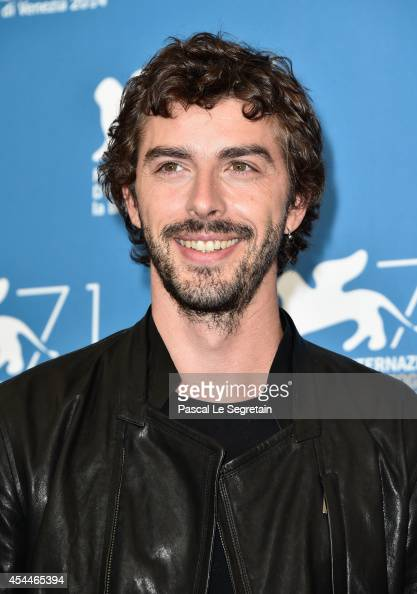 Michele Riondino attends the 'Il Giovane Favoloso' Photocall during the 71st Venice Film Festival on September 1 2014 in Venice Italy