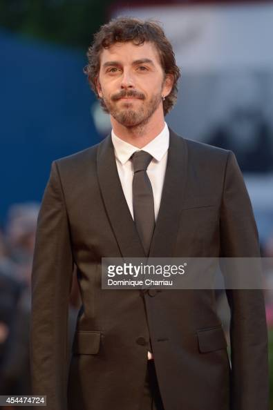 Michele Riondino attends the 'Il Giovane Favoloso' premiere during the 71st Venice Film Festival at Sala Grande on September 1 2014 in Venice Italy