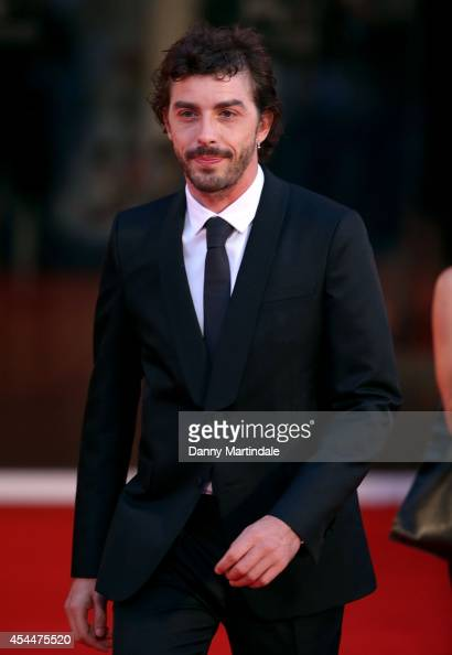 Michele Riondino attends the 'Il Giovane Favoloso' Premiere during the 71st Venice Film Festival on September 1 2014 in Venice Italyy