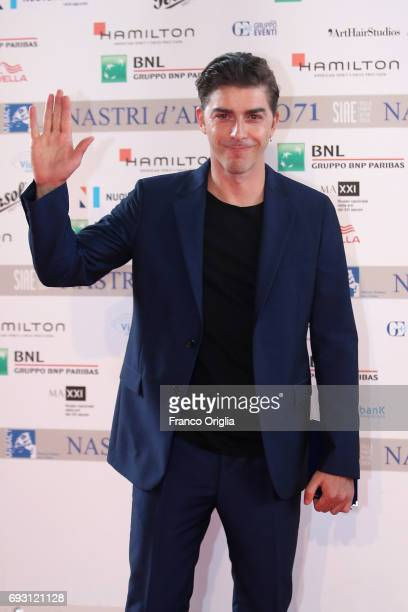 Michele Riondino attends the nominees presentation of Nastri D'Argento at Maxxi Museum on June 6 2017 in Rome Italy