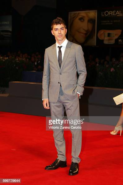 Michele Riondino attends the premiere of 'Tommaso' during the 73rd Venice Film Festival at Sala Grande on September 6 2016 in Venice Italy