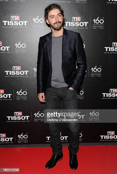 Michele Riondino attends Tissot 160th Anniversary at Piazza Vetra on September 10 2013 in Milan Italy