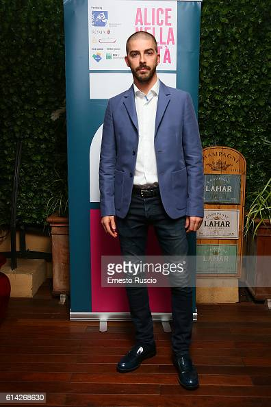 Michele Riondino is seen on October 12 2016 in Rome Italy