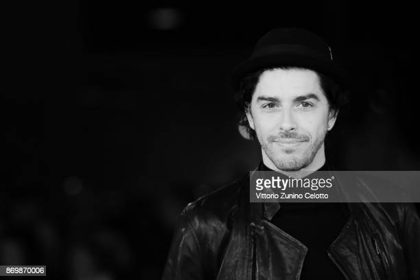 Michele Riondino walks a red carpet for 'Borg McEnroe' during the 12th Rome Film Fest at Auditorium Parco Della Musica on November 3 2017 in Rome...