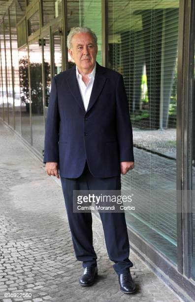 Michele Santoro attends 'M' Press Conference on June 14 2017 in Rome Italy