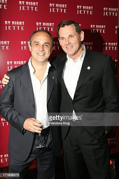 Michele Scannavini Und Bernd Beetz Beim Launch Des Neuen Parfums 'By Night' Von Jette_Joop Im Nektar In München Am 300506