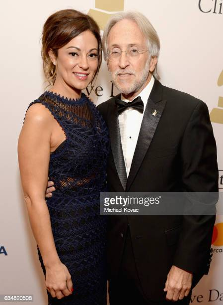 Michele Tebbe and President/CEO of The Recording Academy and GRAMMY Foundation President/CEO Neil Portnow attend PreGRAMMY Gala and Salute to...