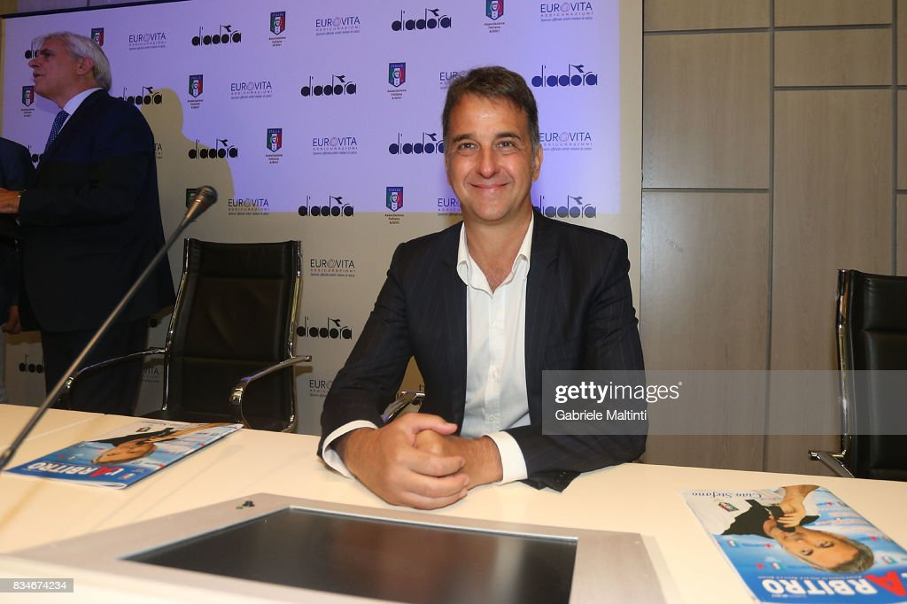 Michele Uva general manager of FIGC at Coverciano on August 18, 2017 in Florence, Italy.