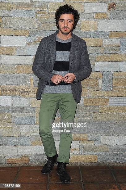 Michele Venitucci attends the 22th Courmayeur Noir In Festival on December 14 2012 in Courmayeur Italy